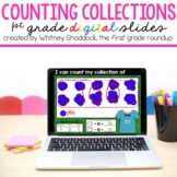 First Grade DIGITAL Counting Collections Mats