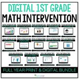 First Grade DIGITAL Math Intervention | Distance Learning