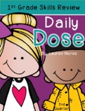 First Grade Daily Dose- 2nd Quarter (morning work or daily