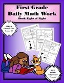 First Grade Daily Math: Book Eight