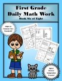 First Grade Daily Math: Book Six