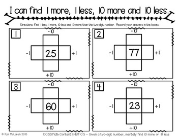 First Grade Daily Math December - NO PREP! (Common Core Aligned)