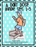 First Grade Daily Work Daily Dose Bundle Sets 1 - 5