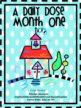 First Grade Daily Work Daily Dose Month One