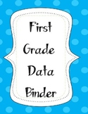 First Grade Data Binder Label