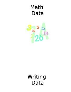 First Grade Data Notebooks