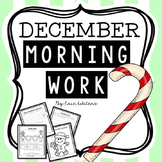 First Grade December Morning Work Pack