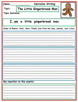 First Grade Writing: December
