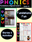 Magic E  Silent E Decodable Stories and Activities Level 1 Unit 11