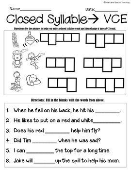 Magic E  Silent E Decodable Stories and Activities Level 1 Unit 11
