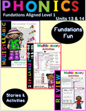Multisyllable Decodable Stories and Activities Level 1 Uni