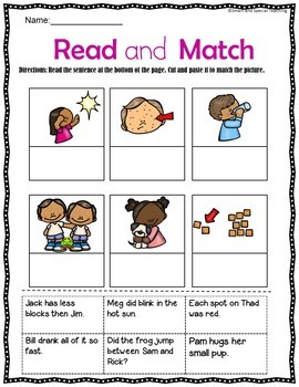 Closed Syllables Decodable Stories and Activities Level 1 Unit 9