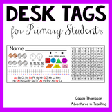Desk Tags for Primary Students