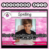 First Grade Differentiated Spelling Lists Unit 6 Bundle