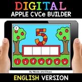 Apple Digital CVCe Word Work for Google Classroom - Distan