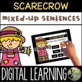 First Grade Digital Center: Mixed-Up Sentences (November D