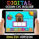 Ocean Digital CVC Word Work for Google Classroom - Distanc