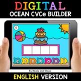Ocean Digital CVCe Word Work for Google Classroom - Distan