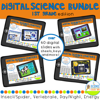 First Grade Digital Science Bundle Packs and Review