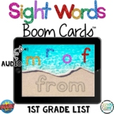 First Grade Digital Sight Word Boom Cards Distance Learnin