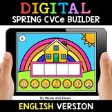 Spring Digital CVCe Word Work for Google Classroom - Dista