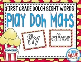 Play Doh Mats: First Grade Dolch {Popcorn}