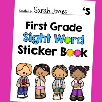 First Grade Dolch Sight Word Book
