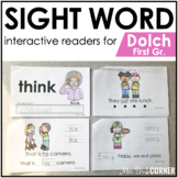 First Grade Dolch Sight Word Books | Printable Dolch Sight