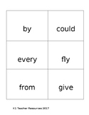 First Grade Dolch Sight Word Flashcards
