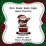 Dolch Sight Word Practice (Christmas)