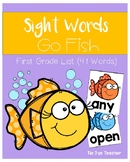 First Grade Dolch Sight Words Go Fish!