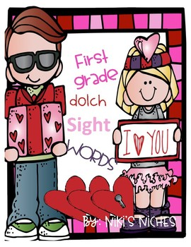 First Grade Dolch Sight Words: Make it, build it, write it (Valentines)