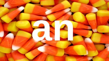 First Grade Dolch Sight Words Powerpoint - Candy Corn