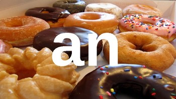 First Grade Dolch Sight Words Powerpoint - Doughnuts