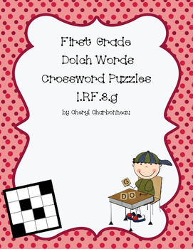 First Grade Dolch Words Crossword Puzzles
