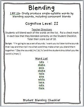 First Grade ELA Assessment Bundle