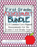 First Grade ELA Assessment Bundle
