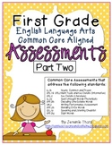 First Grade ELA Common Core Assessments Part Two