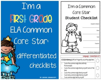 Common Core Differentiated Checklists