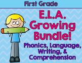 First Grade ELA Grab Bag: Growing Bundle