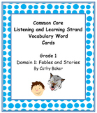 CKLA Grade 1 Domain 2 Fables and Folktales Vocabulary Card Set