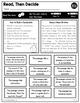 First Grade ELA Print a Standard FREEBIE {No Prep ELA Sheets}