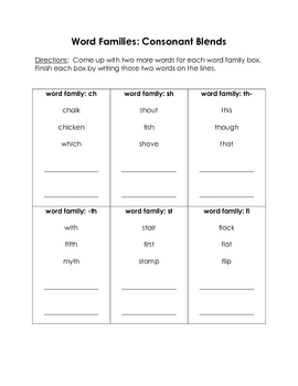 First Grade ELA Review Packet