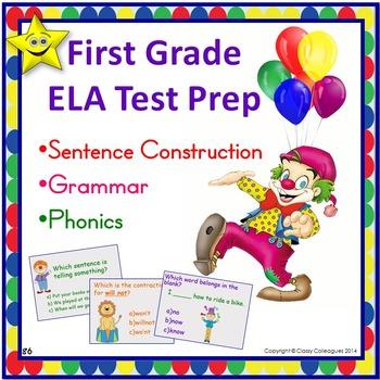 ELA Test Prep, First Grade
