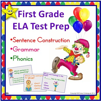ELA Test Prep, First Grade