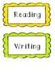 First Grade ELA and Math Common Core Posters/Cards for display