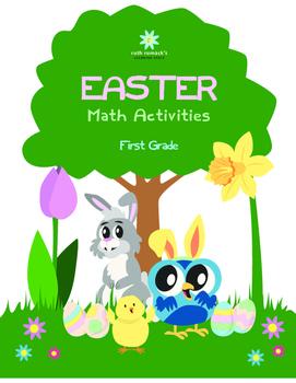 First Grade Easter Math Activities