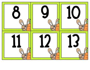 First Grade Easter Math Centres