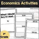 First Grade Economics Activities