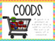 ECONOMICS FOR K-2: GOODS AND SERVICES #hellosummer